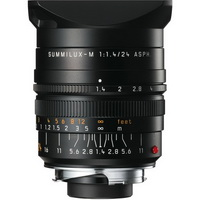 Leica Summilux-M 24mm f/1.4 ASPH black