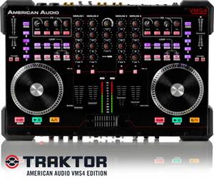 Новая версия midi контроллера VMS4 TRAKTOR